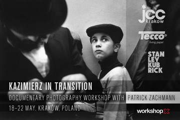 Patrick Zachmann in Krakow 2014, workshopx