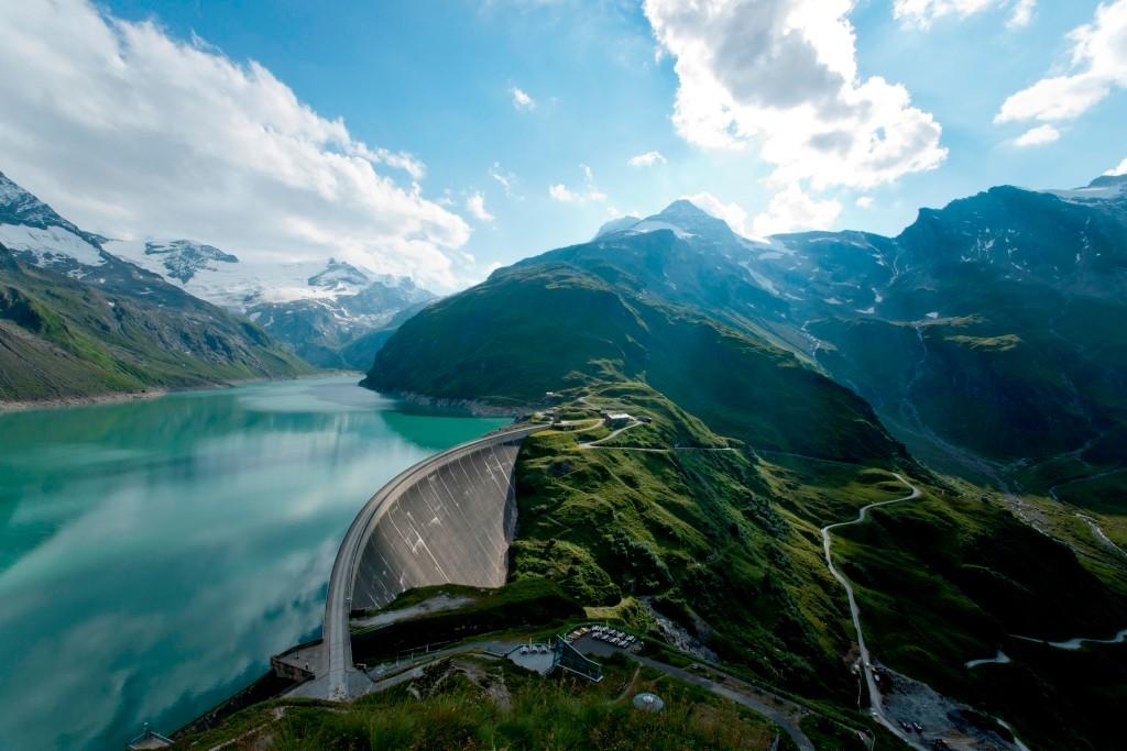 Stausee und Umgebung © Verbund