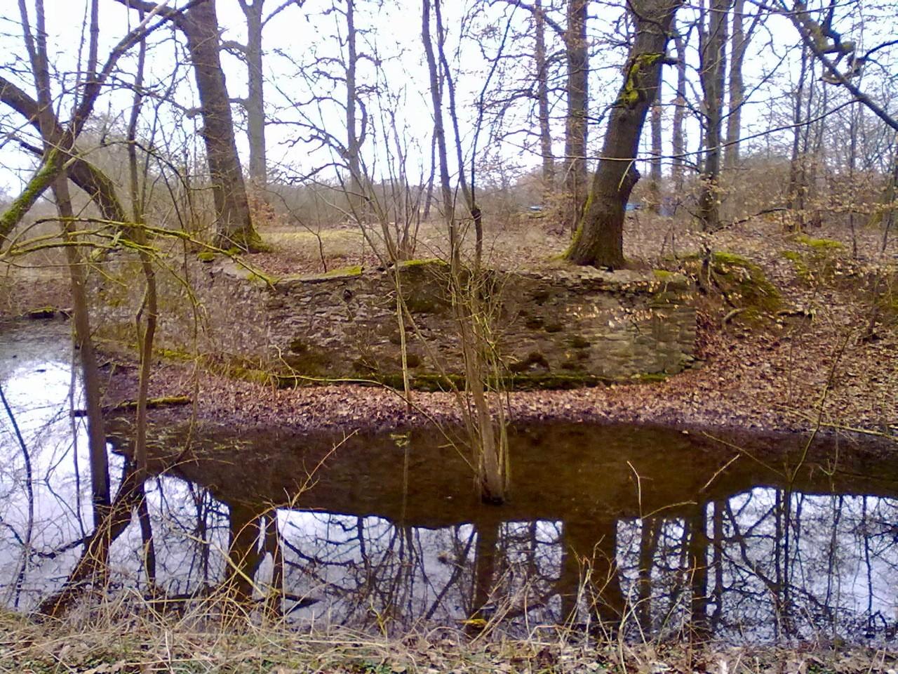 """Vom Wald zurückerobert: Im 18. Jahrhundert stand in den Parkanlagen des Windhofes ein """"türkisches Lusthaus"""" inmitten eines künstlichen Teiches."""