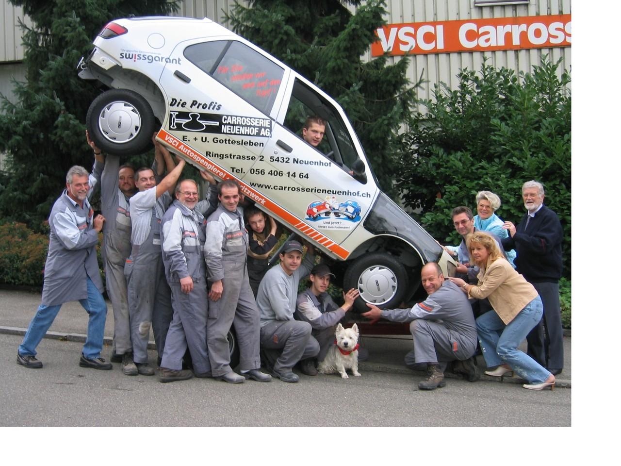 2006 - Ihr Fahrzeug wird schweben . . . wir jedoch bleiben auf dem Boden