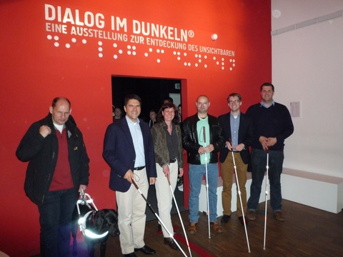 Studierende des Masterstudiengangs Nonprofit-Management im DialogMuseum Frankfurt   |   Bildquelle: IZGS der EHD