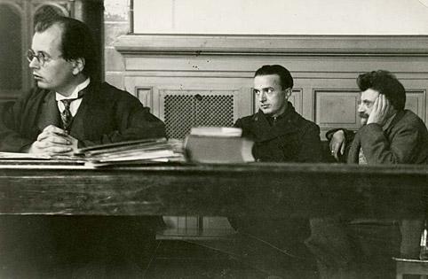 Anwalt Hans Litten im Gerichtssaal
