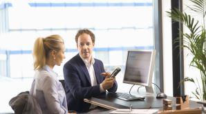 werk met een voicerecorder
