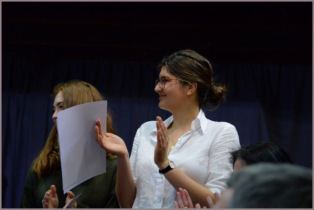 Ombeline, lauréate du Prix de l'APEL