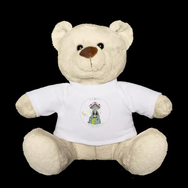 Dein neuer Seelenpartner heißt Teddy... bis dann der große Kuschelbär auf der Matte steht...