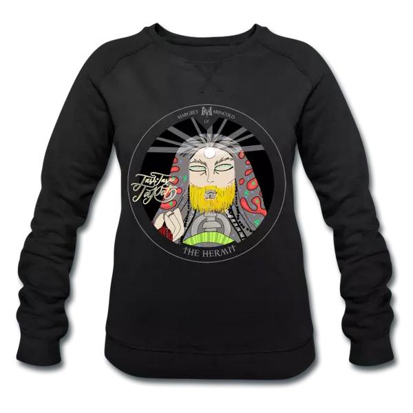 der-eremit-9-im-tarot-als-t-shirt-als-long-sleeve-von-margret-marincolo