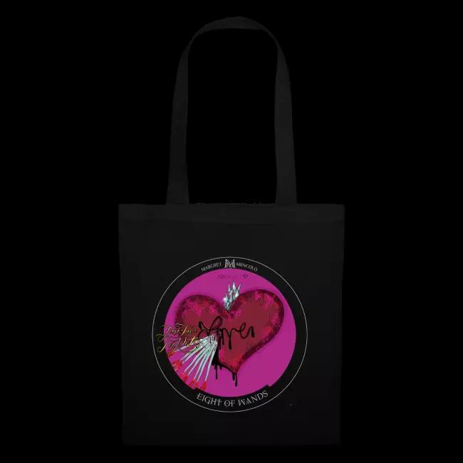 Eine Tasche voller Liebe... die kann man immer gut Gebrauchen. Hier jubelt sogar das Pausenbrot.