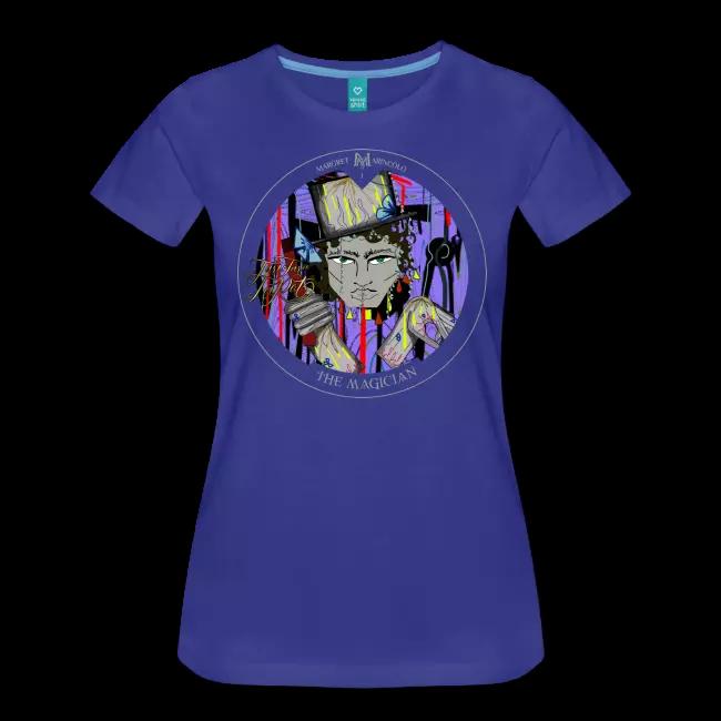 Mit einem T-Shirt mit dem Magier im Tarot, wird dein Leben reine Zauberei.