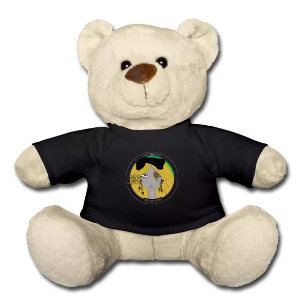 Ein Teddy zum Verlieben. Da ist die Kindheit wieder nah und das innere Kind strahlt glücklich.