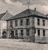 Im 1. Stock war von 1903 - 1955 die Post untergebracht