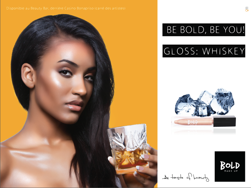 Campagne Affichage Bold Make-Up 2015