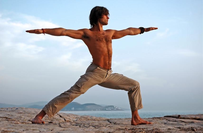 Intensiva Yoga Meditacion 1 - 17 Julio Bilbao. Postura del Guerrero