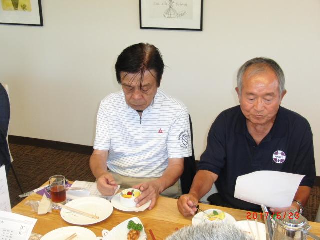 渡辺さん田中さん先週は鎌倉6大学で活躍コンビ