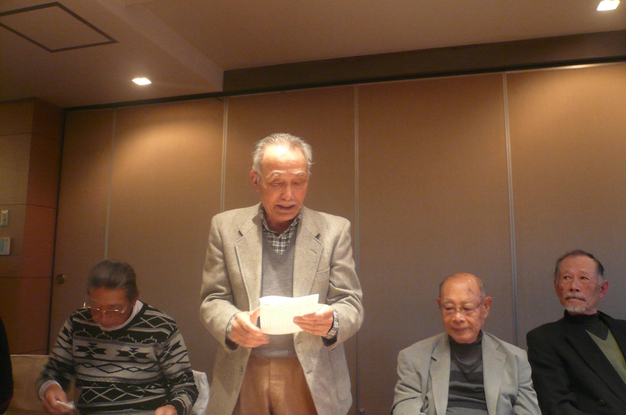 横須賀からご夫妻で参加された山田先輩ニアピンも