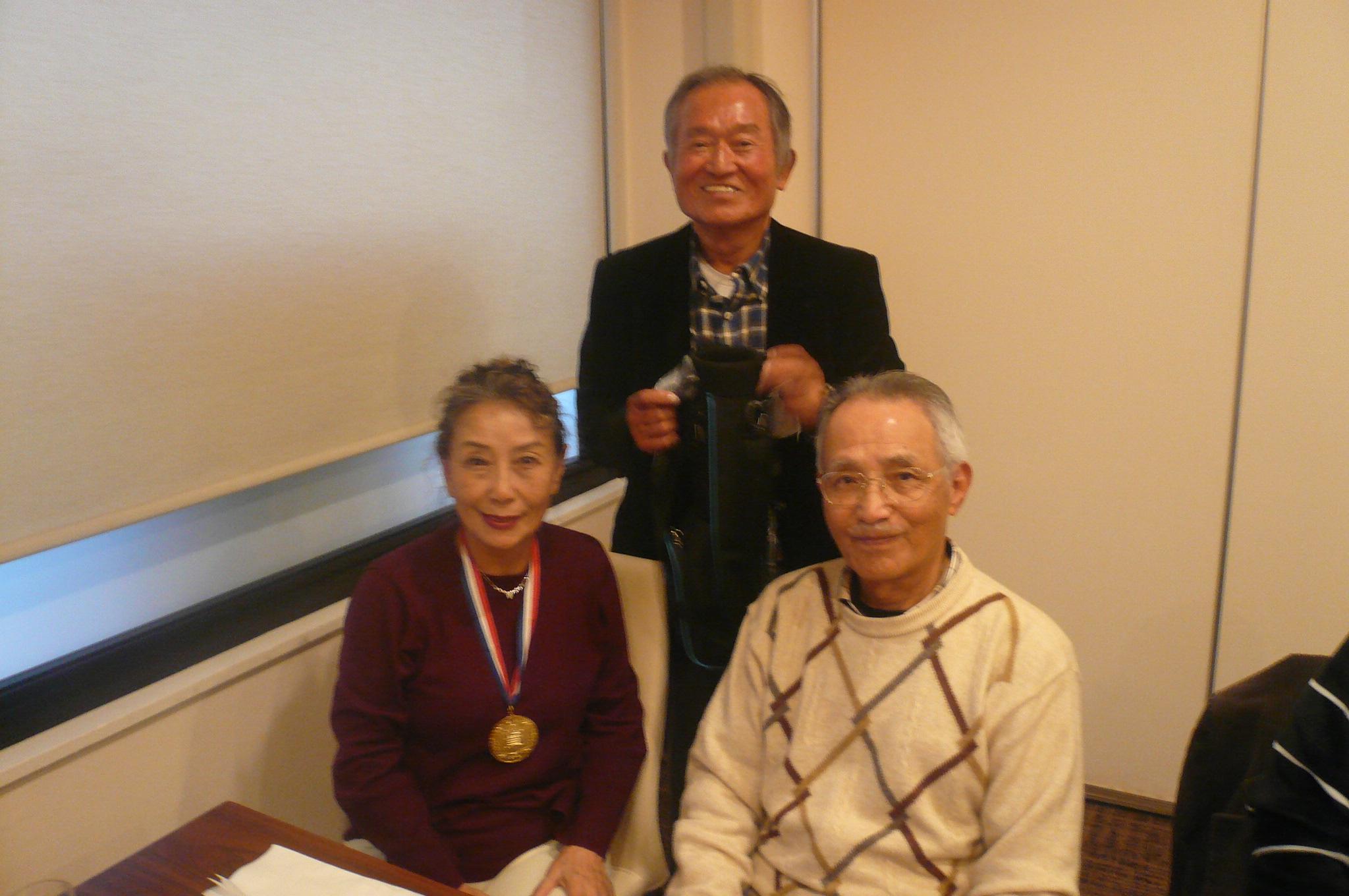 優勝小宮さん2位山田さんベスグロで3位田中さん