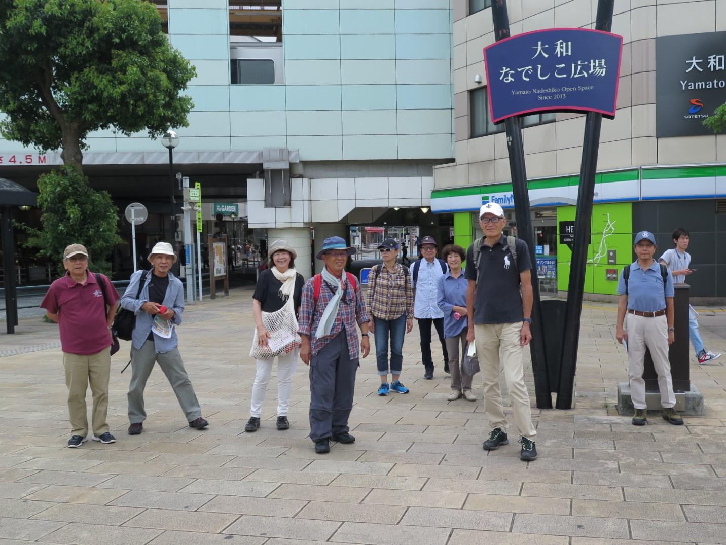 小田急線大和駅前