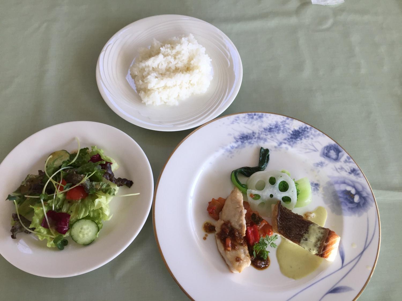 真鯛料理のランチ
