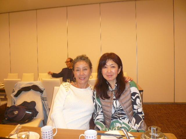 小宮さんと初参加富田さん仲良くなりました