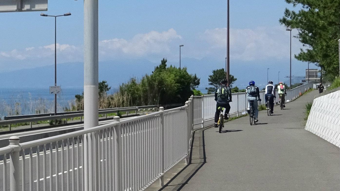 太平洋自転車道(大磯区間)を🚲快走!