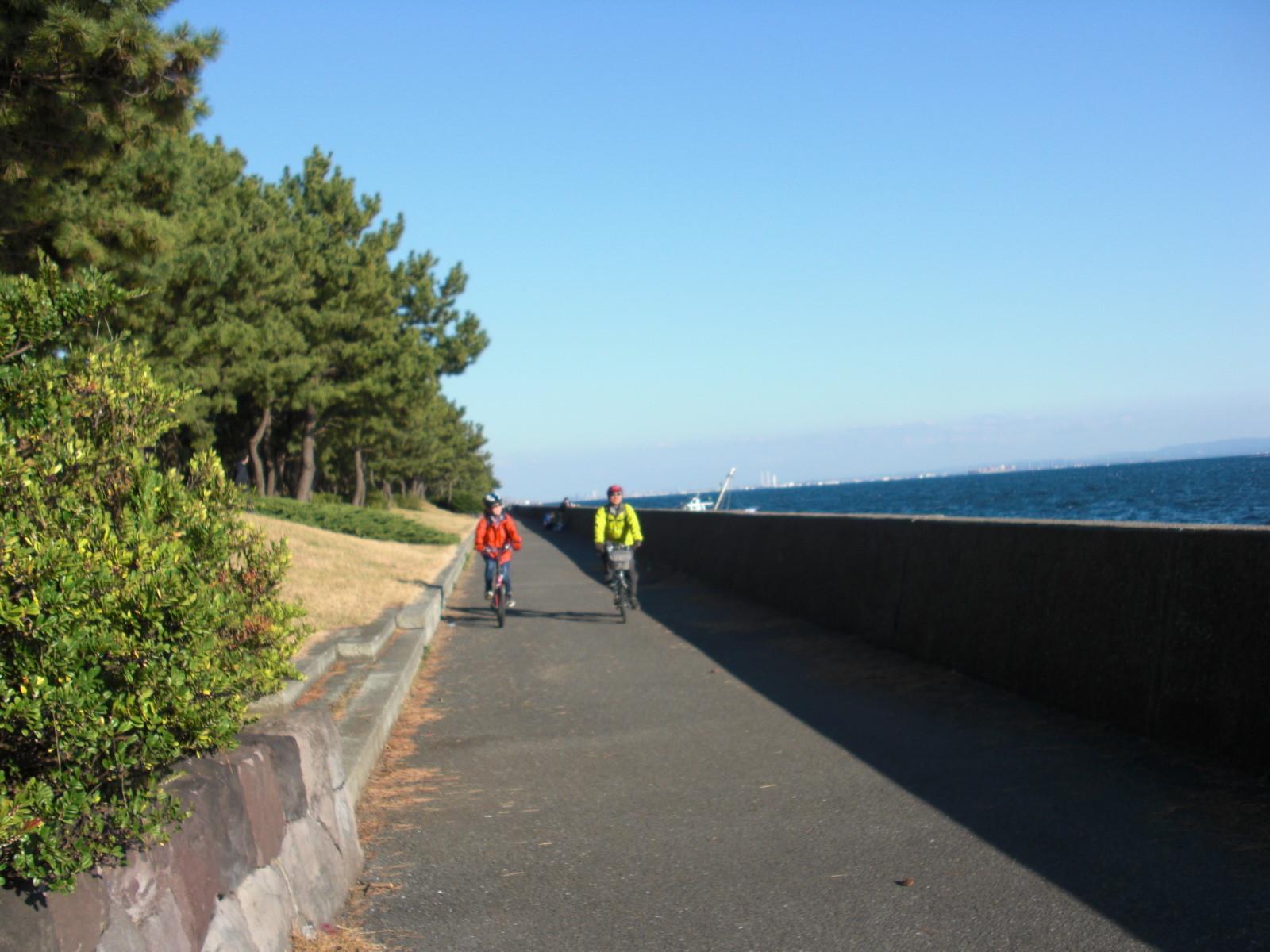 八景島対岸・海辺の散歩道