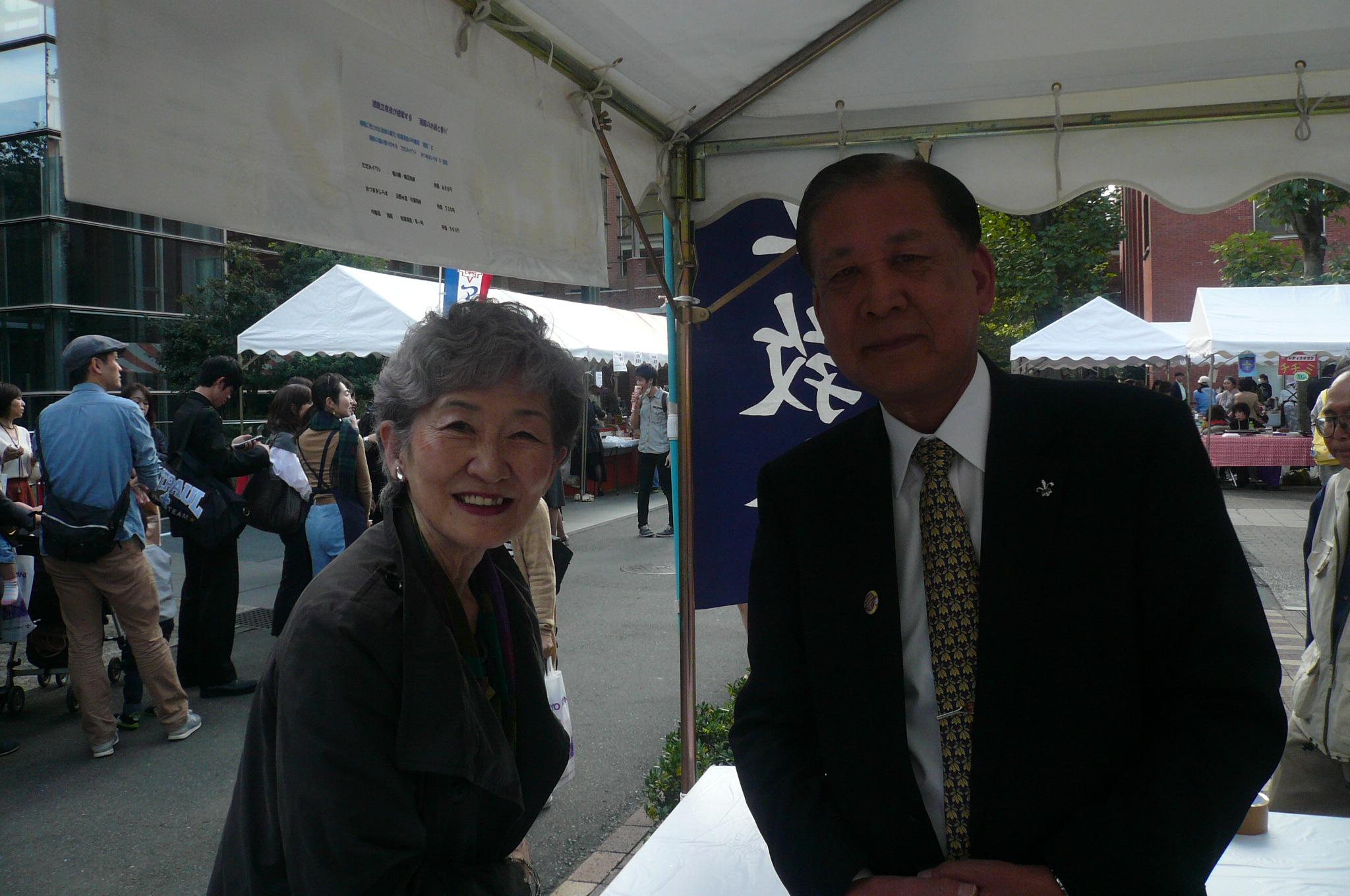 卒業50周年おめでとうございます。S41清水会長網野さん
