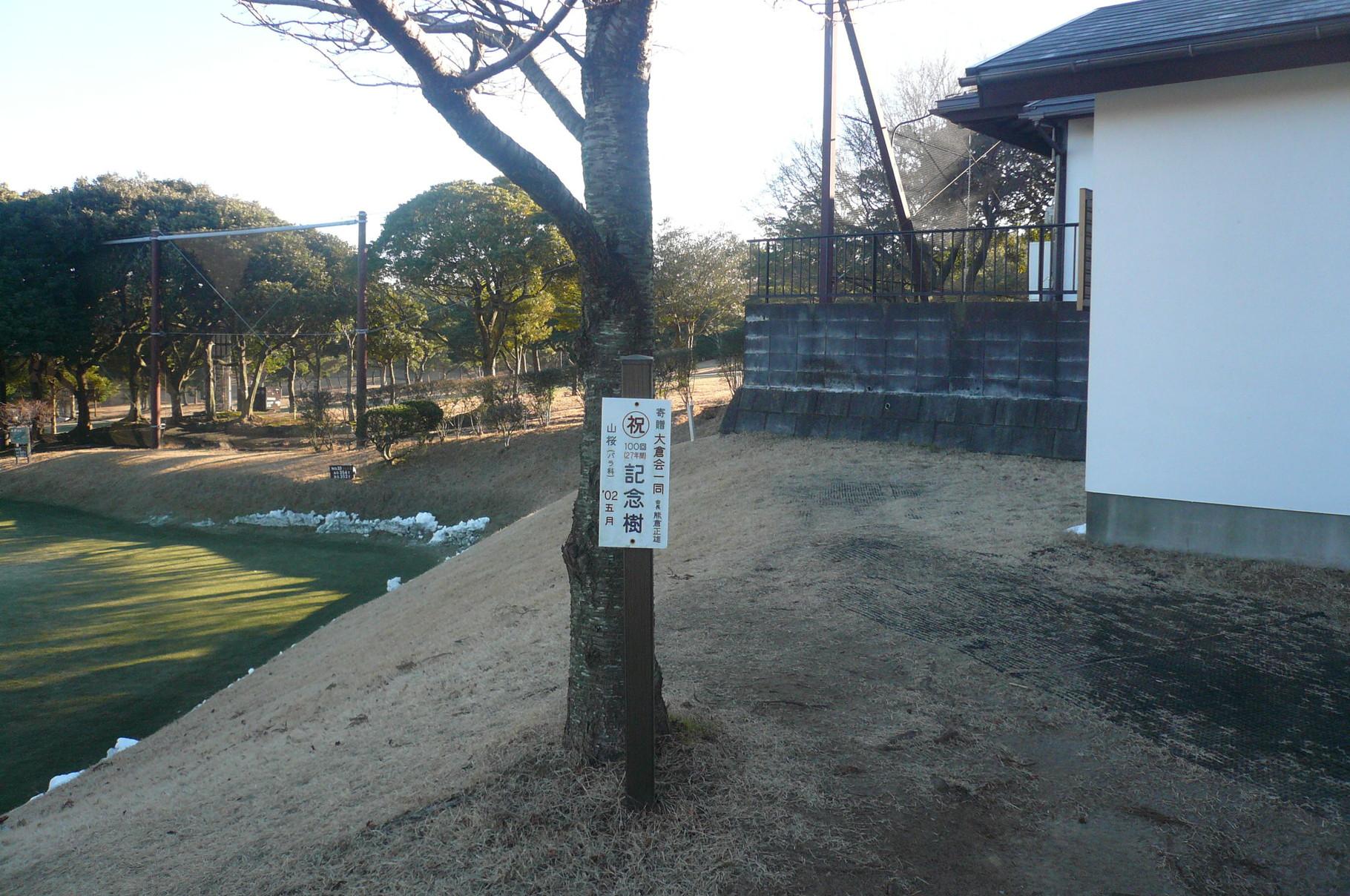 ホールインワンして記念樹植えたいですね