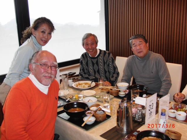 昼食田中さんの他は藤吉さん小宮さん徳光さん放研