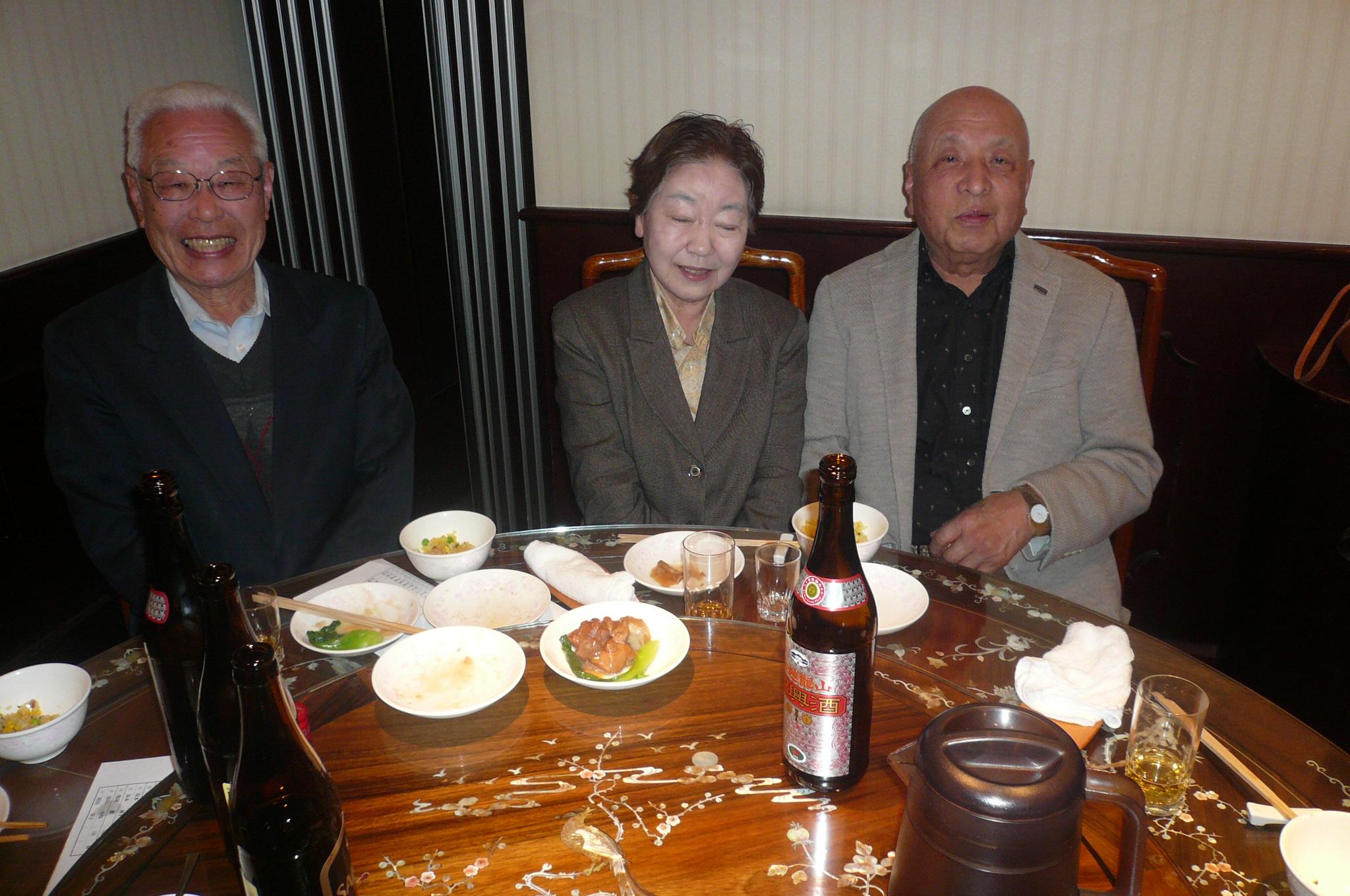 田村大先輩と宮尾夫人は思わぬおつながりがあっと話が弾む!