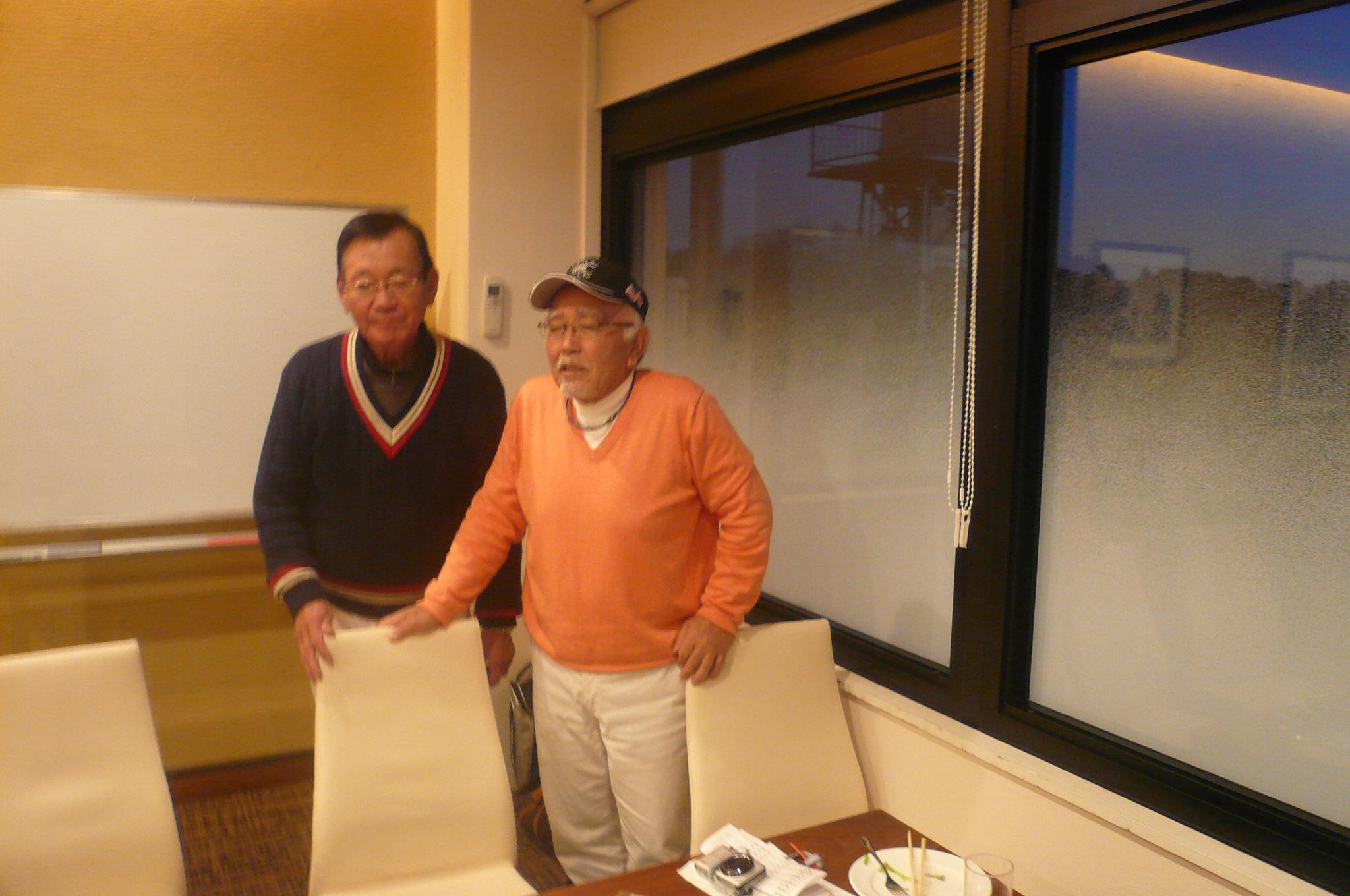 5年間世話人大島さん田中さんお世話になりました