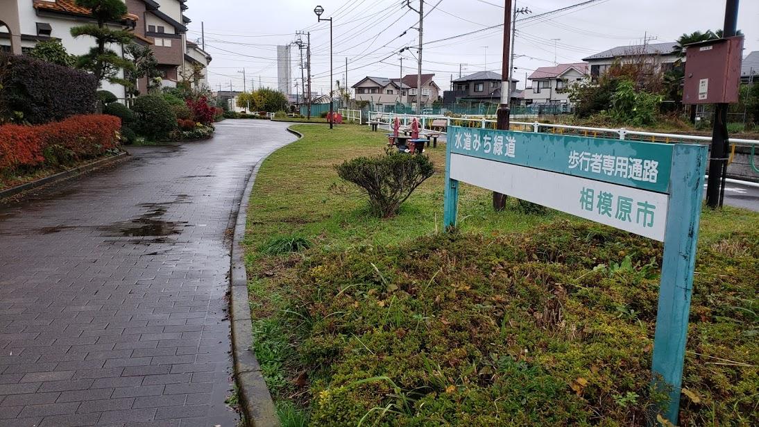 横浜水道みち緑道を往く