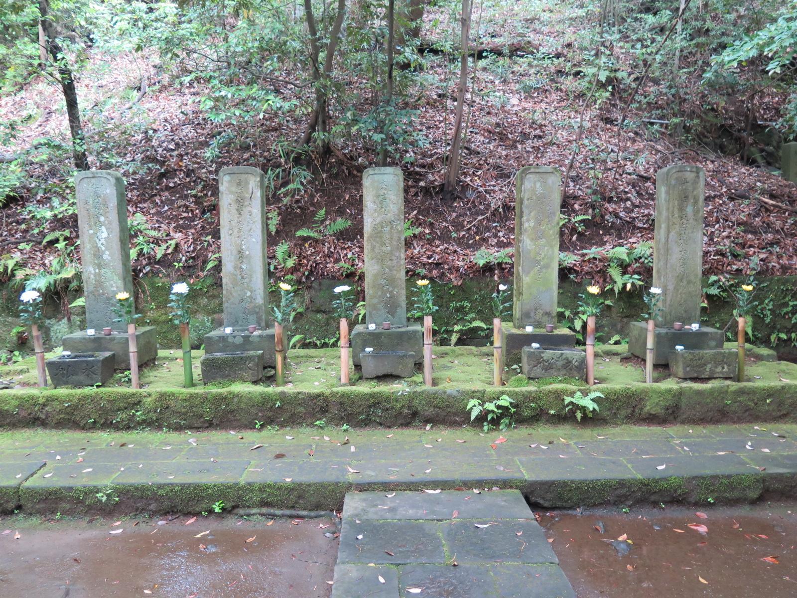 北条五代の墓所