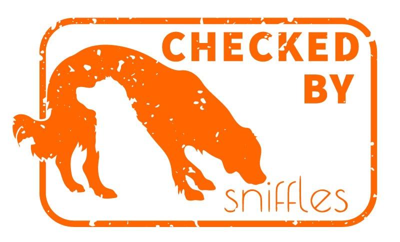 sniffles - Bettwanzen-frei-Siegel 'Checked by sniffles'