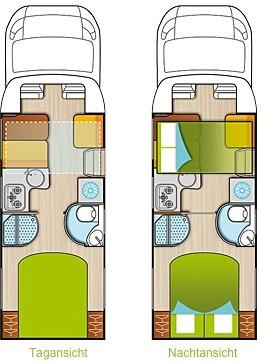forster reisemobile teilintegrierte reisemobil center. Black Bedroom Furniture Sets. Home Design Ideas