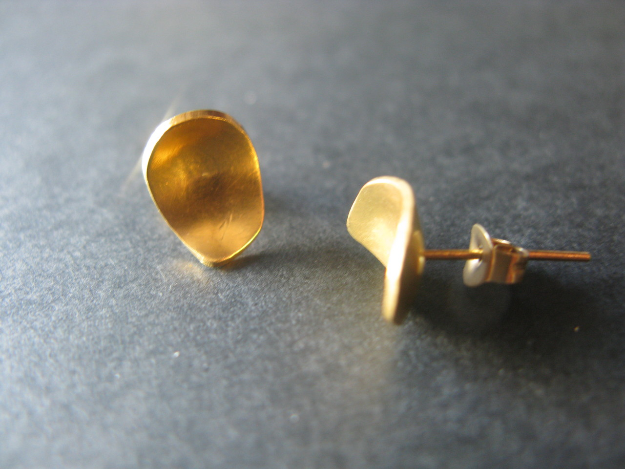 Boucles d'oreilles Goutte PM - Plaqué or fin