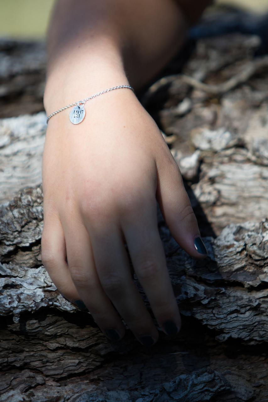 Bracelet Love / Sweet love - Argent 925/1000e