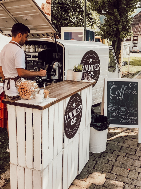 Kaffee Catering für Veranstaltung in Freiburg