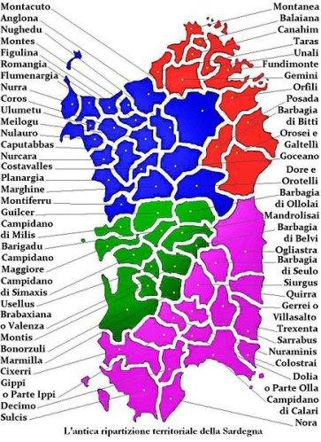 Cartina Sardegna Regioni.Sardegna Cartina Utile Mari Strade Citta Pianeta Alghero