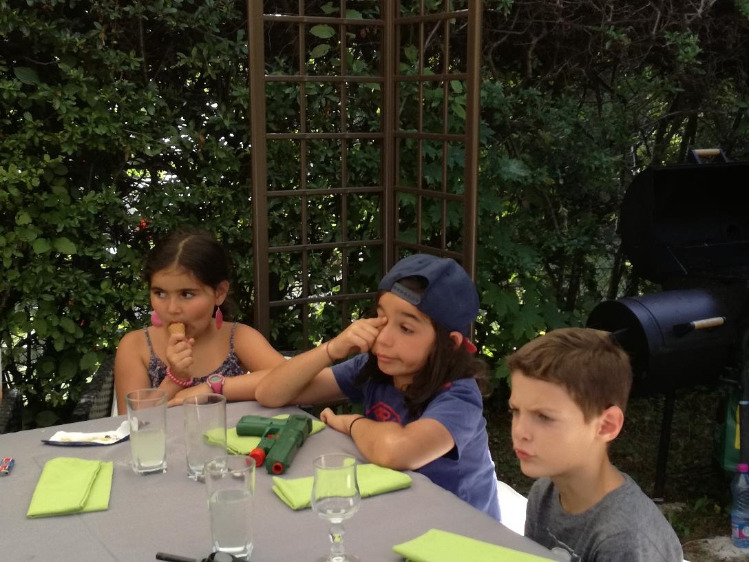 Cali, Liam et Clément
