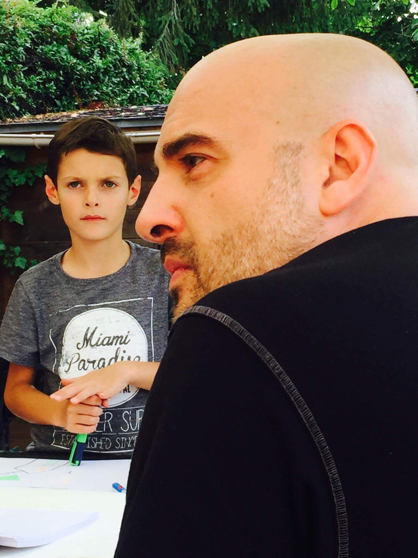 Mikael et Clément