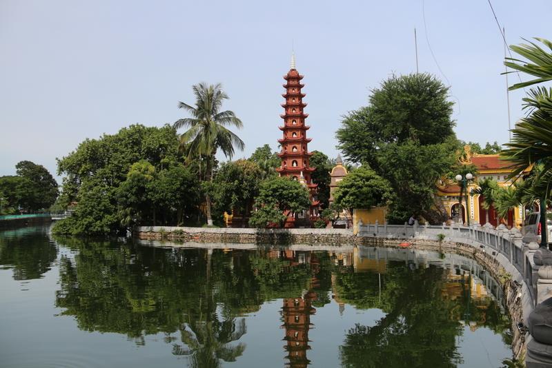 Pagode Tran Quoc, la plus ancienne de la capitale (VIe siècle)