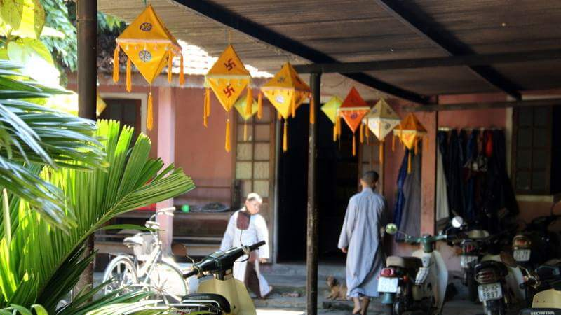 Pagode du Dieu De (XIXe siècle), école de bouddhisme renommée
