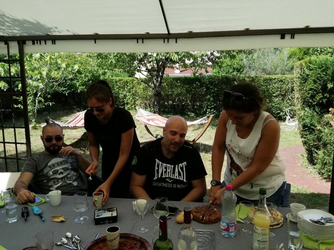 Anthony, Jessica, Mikael et Noémie