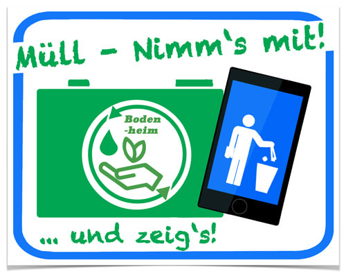"""""""7 Wochen Müll weg"""" - Nimm's mit und zeig's!"""