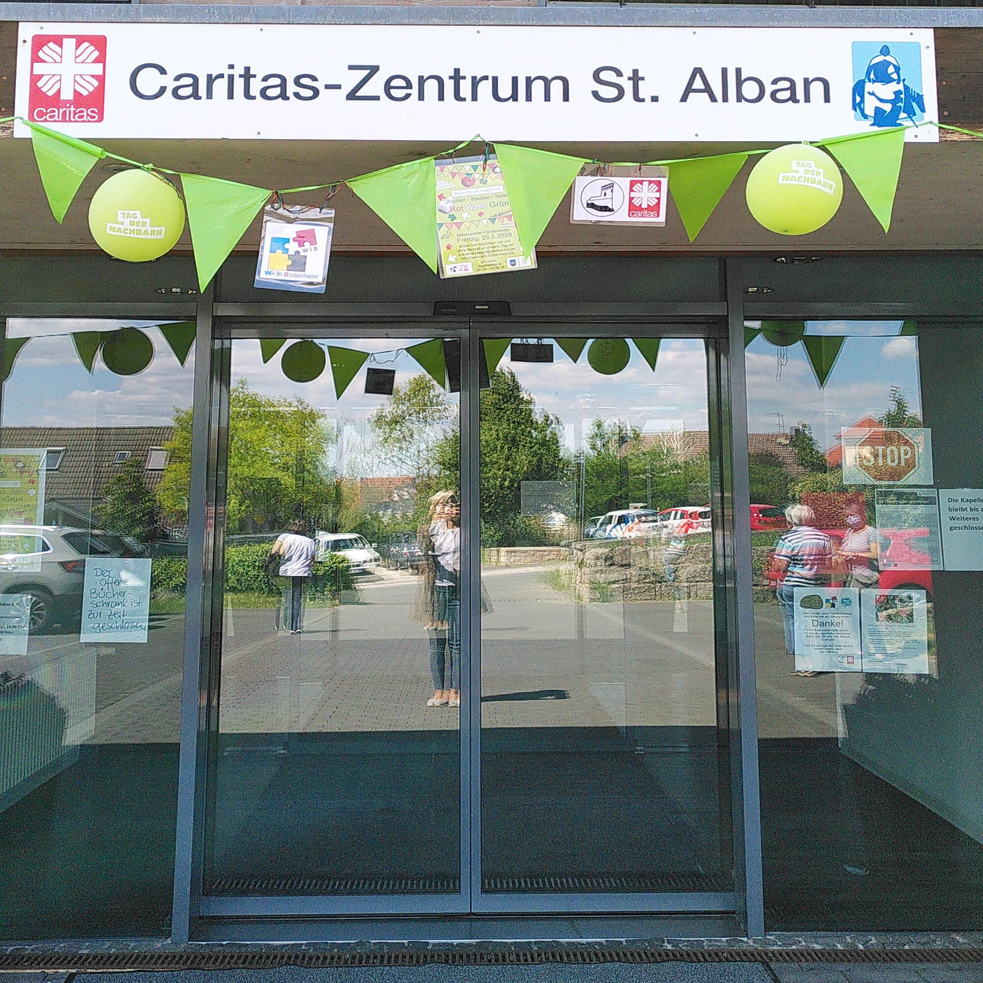 14a Caritas-Zentrum St.Alban, Girlande #tagdernachbarn
