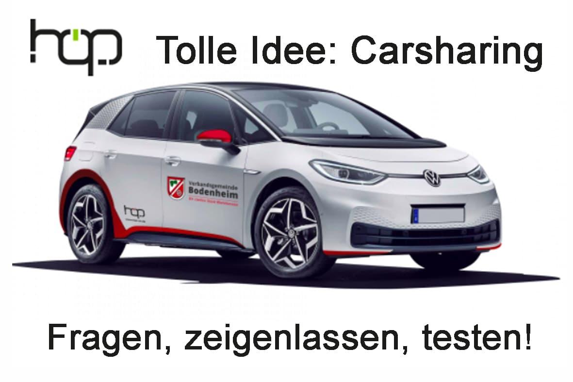 Mi 11.8. E-Car- Sharing leicht gemacht!