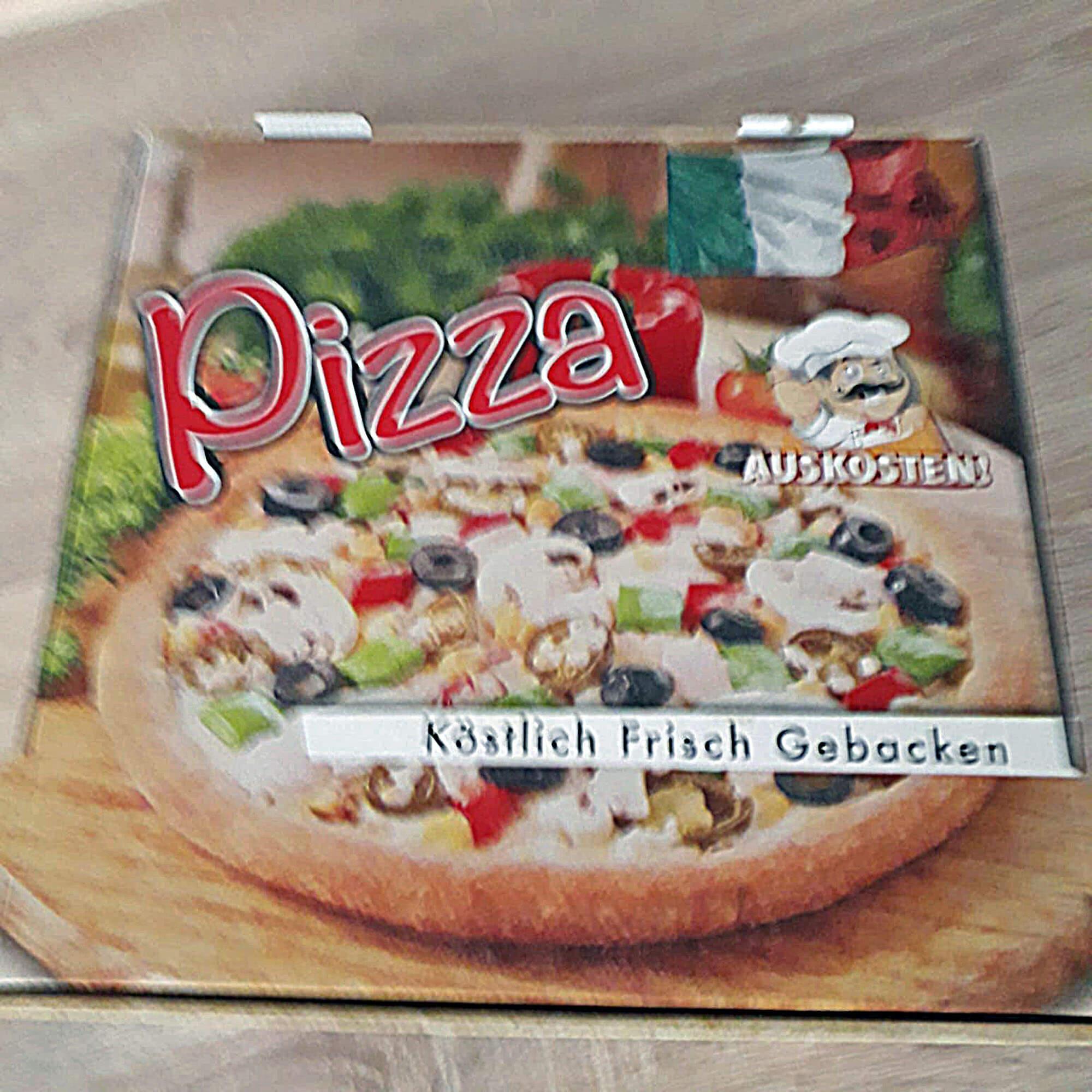 20c Pizzakarton, R.Koss