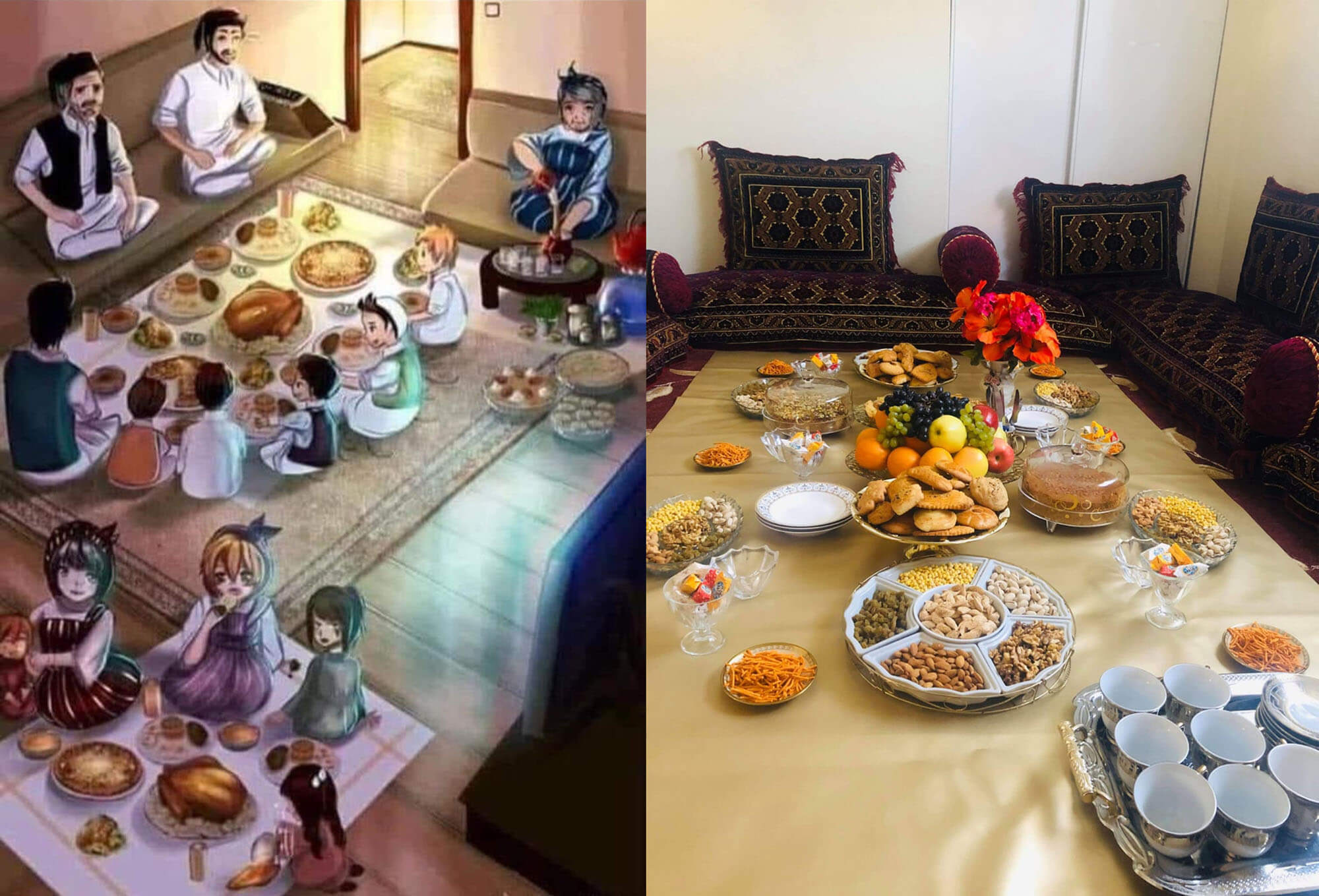 "19 ""Ramadan-Ende 2020"", Sami, Massoud und Hamed #tagdernachbarn"