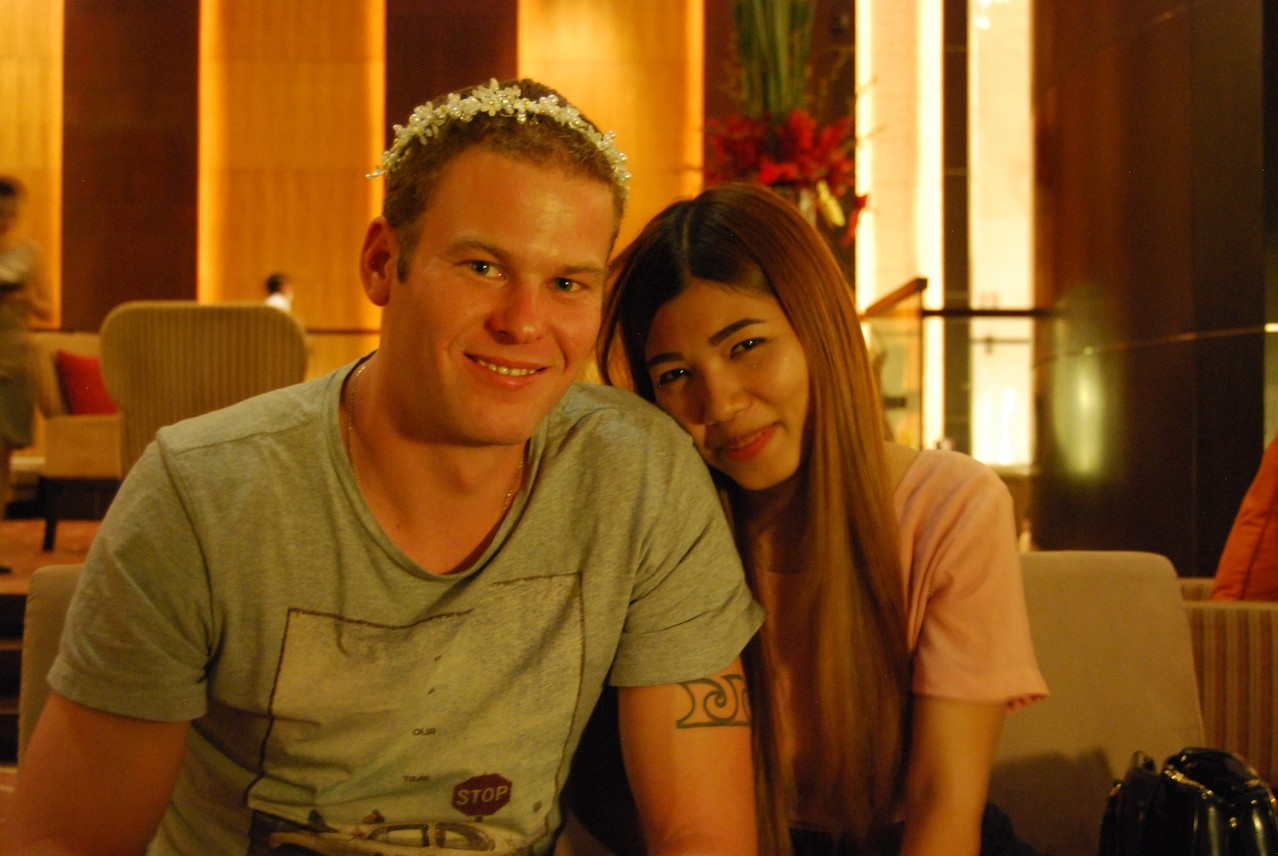 Was für ein süßes Paar :)