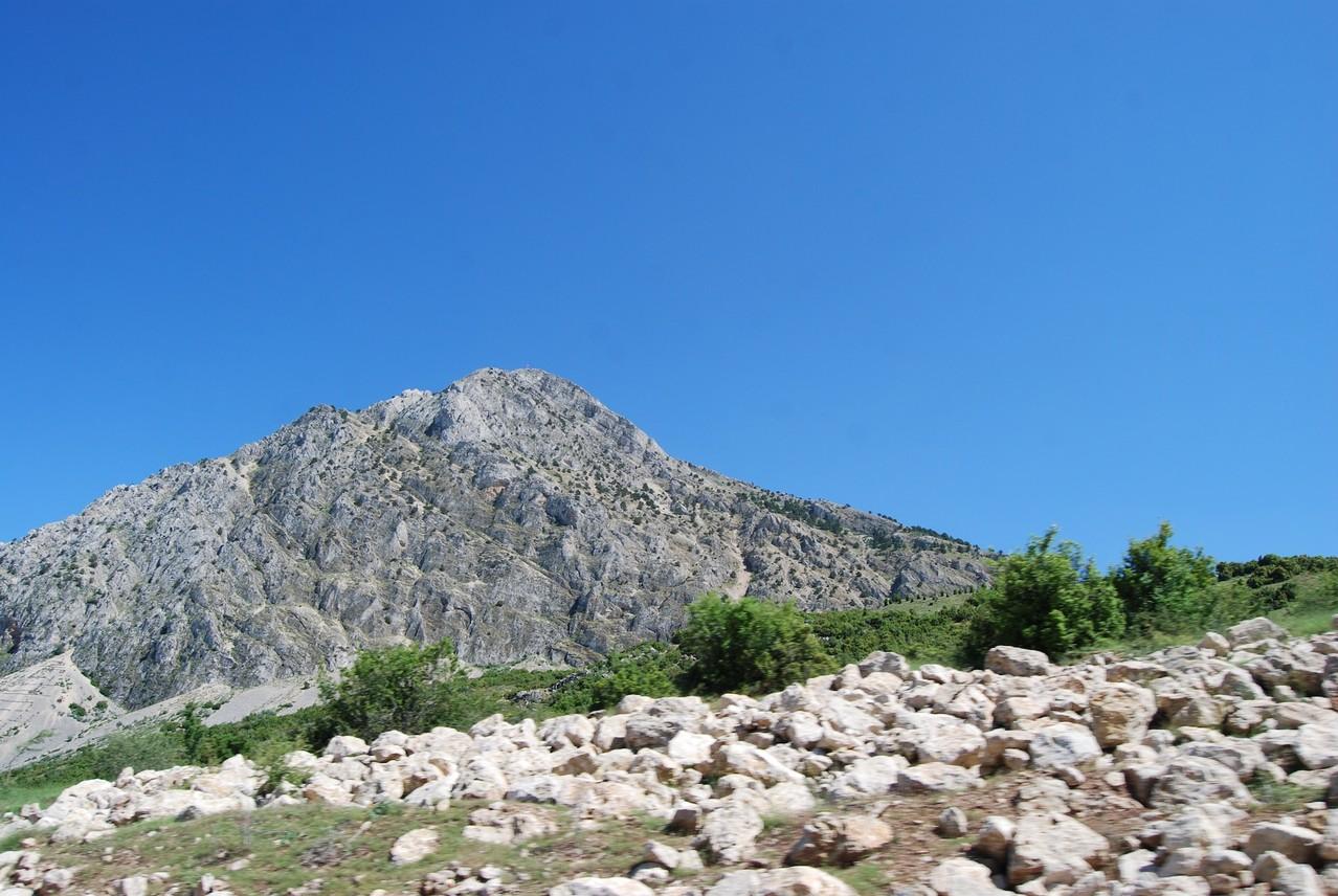 Türkische Berge