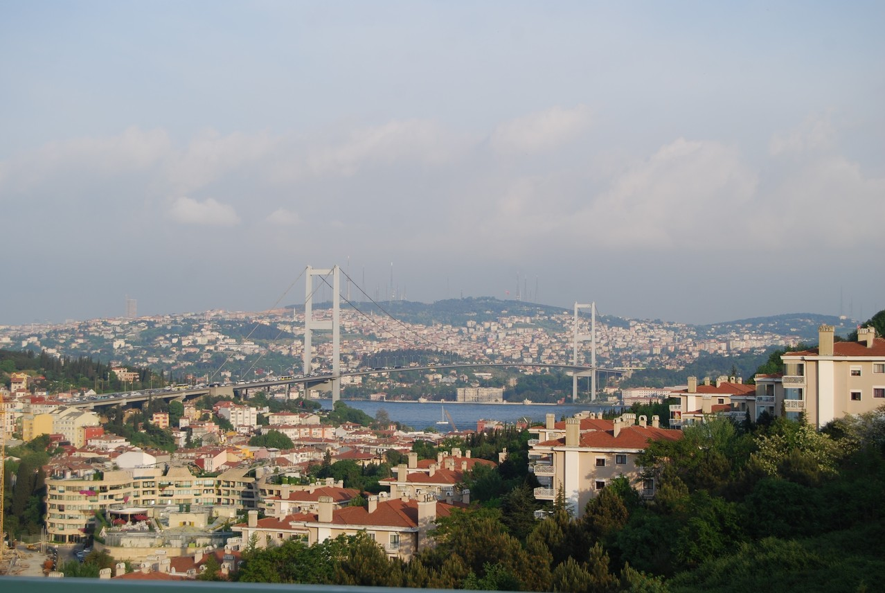 Die Brücke am Bosporus